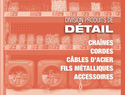 Catalogue produits de détail
